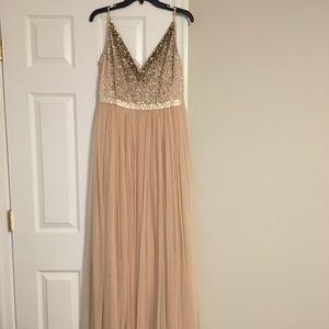 Bhldn Avery bridesmaid dress